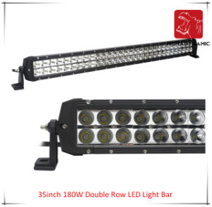 LED Car Light of 35inch 180W Double Row LED Light Bar Waterproof for SUV Car LED off Road Light and LED Driving Light pictures & photos
