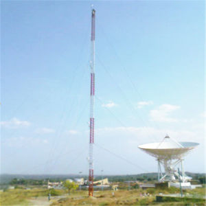 New Style Guyed Mast Tubular Steel Telecom Tower pictures & photos
