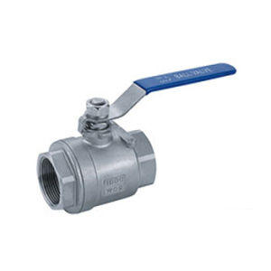 Two Piece Manual Internal Thread Ball Valve (Q11F) pictures & photos