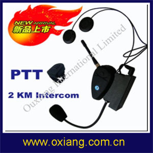 Motorcycle Helmet Interphone Headset With Intercom 2KM (OX-BH-9086) pictures & photos