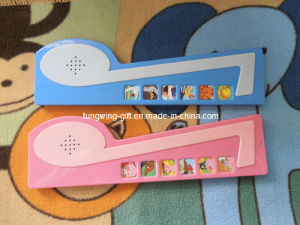 Note shaped Sound module for Children′s Book pictures & photos