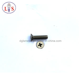 Cross Recess Countersunk Head Machine Screw pictures & photos