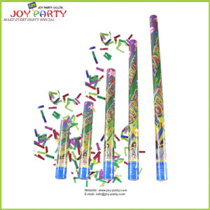 Party Confetti Shooter 2*5cm Colorful Retangular Confetti Inside pictures & photos