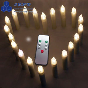 Promotion Plastic China Moving Wick Flameless Candle