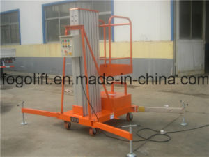 Single Mast Hydraulic Electirc Aerial Platform Passenger Elevator / Lifter pictures & photos