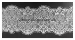 Hot Sell Fashion Nylon Eyelash Lace Trimming for Garment Dress 006 pictures & photos