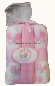Cotton Resuable Baby Muslin Diapers pictures & photos