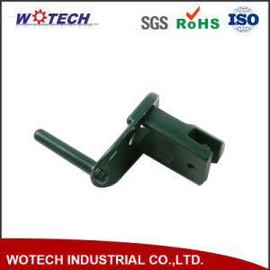Green Powder Coating Window Used Parts Die Casting Brackets
