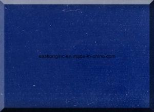 Pure Blue Artificial Quartz Stone Color Manufacturer pictures & photos