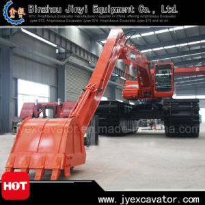 Land and Water Dredging Excavator with Amphibious Excavator Jyae-57