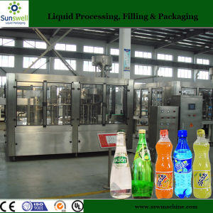 Sunswell Carbonation Machine Bottling Line From a-Z Beverage Filling Manufacturer pictures & photos