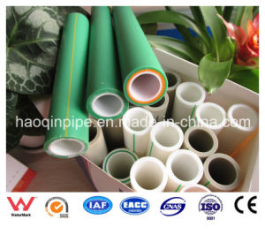 Green 90mm PPR Pipe Using on Cold Water and Hot Water pictures & photos