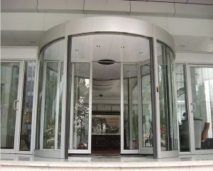 Automatic Curved Door for Hotel pictures & photos