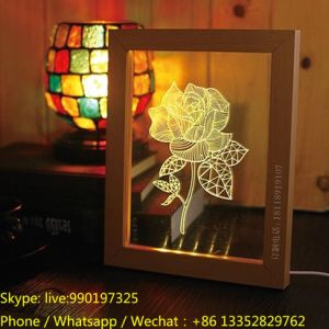 Creative Birthday Gift with LED Light for Home Decoration pictures & photos