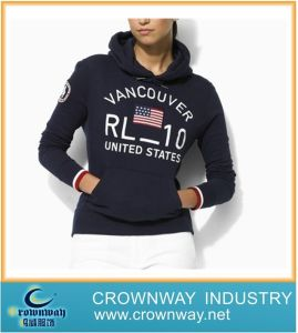 Lady Custom Print Hoodies with High Quality pictures & photos