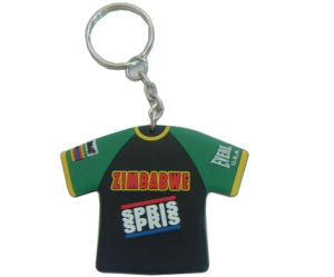 Various Pattern Colofu Customized T Shirt Keychain pictures & photos