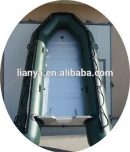 Liya 5.5m Korea PVC Inflatable Rubber Boat Aluminum Boats for Sale pictures & photos