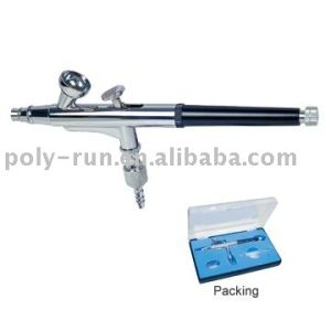 New 0.3mm Double-Action Airbrush Gun Gravity Paint Tattoo Pr-205 pictures & photos