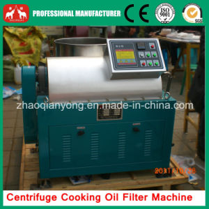 Automatic Centrifugal Cooking Oil Filtration Machine pictures & photos