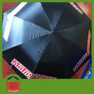 2015 Open Hook Handle Golf Umbrella pictures & photos