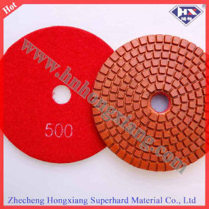 "Stone Polishing 5"" High Quality Wet Polishing Pads pictures & photos"