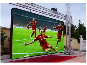 High Brightness P10 (P6 P8mm) Outdoor LED Video Wall with Full Waterproof Fixed Installation. pictures & photos