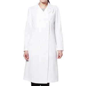 100% Cotton White Doctor′s Uniform Lab Coat Hospital Uniform Doctor Gown pictures & photos