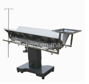 Medical Stainless Steel Veterinary Surgical Operation Table pictures & photos