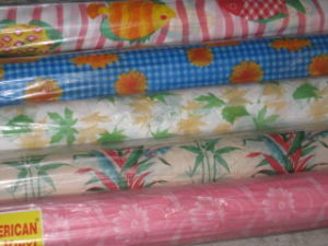Plastic Table Roll (PEVA, PE, EVA) pictures & photos