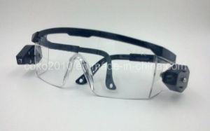 Double LED Light Protective and Safety Eyewear pictures & photos