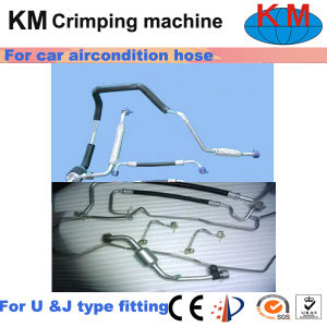 Ce Qualified Side Feeding Hose Crimping Machine Km-85A-51 pictures & photos