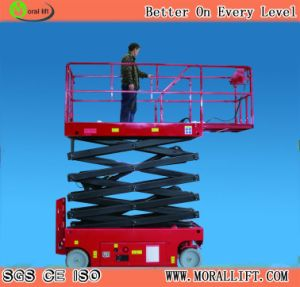 10m Self-Propelled Mobile Scissor Lift pictures & photos