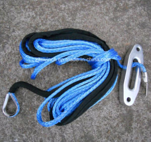 Winch Synthetic Rope with Aluminum Hawse for ATV Winch