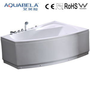 Luxury Square Whirlpool Massage Bathtub with Bubble Jets (JL801L/R) pictures & photos