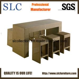 Wicker Bar Table Set/Outdoor Bar Furniture/Bar Furniture (SC-8040) pictures & photos