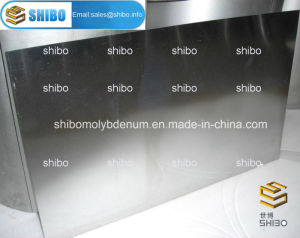 99.95% Pure Molybdenum Plates and Sheets pictures & photos