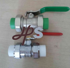 Brass PPR Ball Valve for PPR Pipe pictures & photos