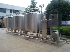 Industrial Use 2000L/H CIP Cleaning Machine pictures & photos
