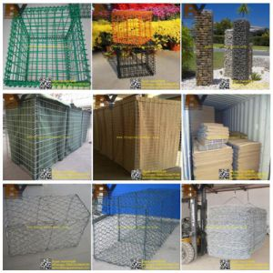 Gabion Mattress Hexagonal Mesh Gabion Basket Welded Gabion Box pictures & photos