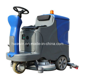 Automatic Electric Ride on Floor Cleaning Machine pictures & photos