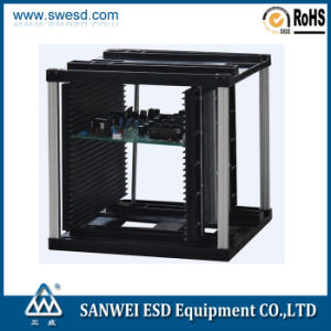 S Size SMT Antistatic ESD PCB Magzine Rack (3W-9805301A-1) pictures & photos