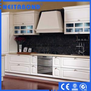 Heat Resistant Polystyrene Wall Cladding Decorative Aluminium Kitchen Panels