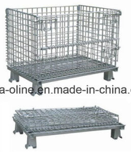 Foldable Steel Storage Cage/Warehouse Cage (1200*1000*890 Nb-7) pictures & photos
