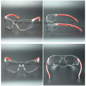 ANSI Z87.1 Certificate Wrap Around PC Lens Safety Glasses (SG123) pictures & photos
