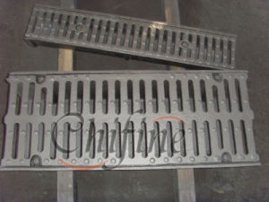 En124 Cast Iron Municipal Drainage and Sewerage Square Gratings pictures & photos
