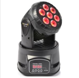 7*10W Mini LED Moving Head Wash