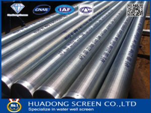 Galvanized Steel Water Well Screen/ASTM A53 Water Well Filter Pipe pictures & photos