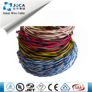 Bare Copper PVC Insulated Telephone Jumper Wire, Telephone Cable pictures & photos