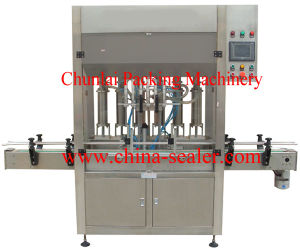 5 L Automatic Piston Type Liquid Filling Machine pictures & photos