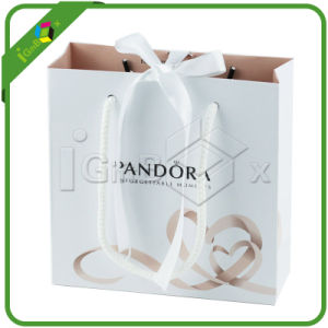 Luxury Shopping Paper Bag for Jewelry pictures & photos